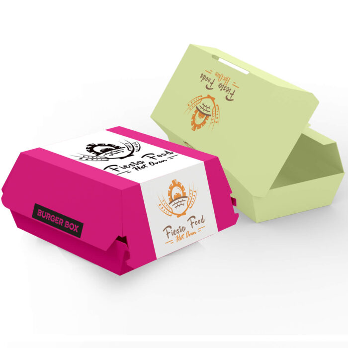Burger Boxes Cardboard
