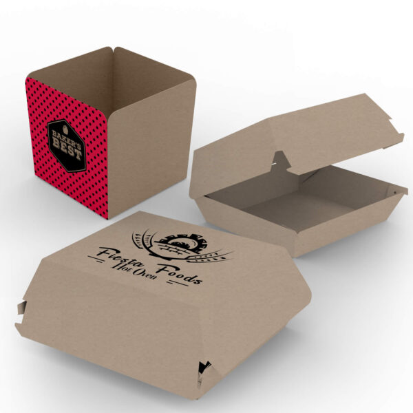 Burger and Chip Boxes