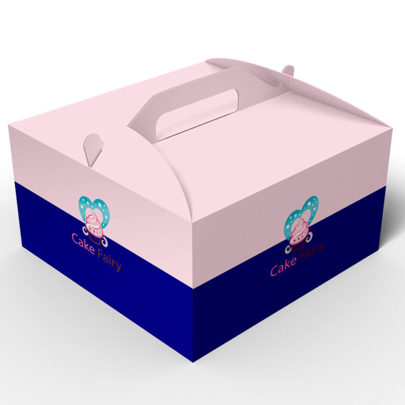 Cupcake Box with Handle