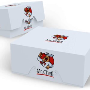 Cupcake Boxes with logo