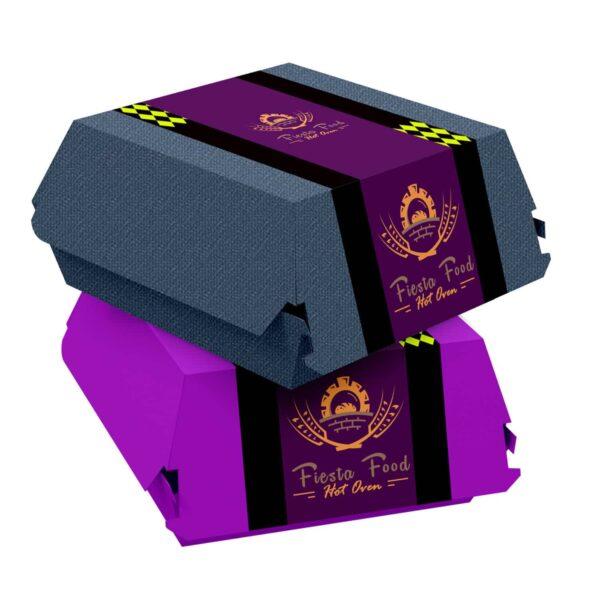 Printed Burger Boxes