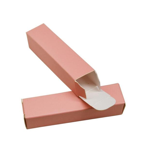 Cardboard Blank Cosmetic Boxes