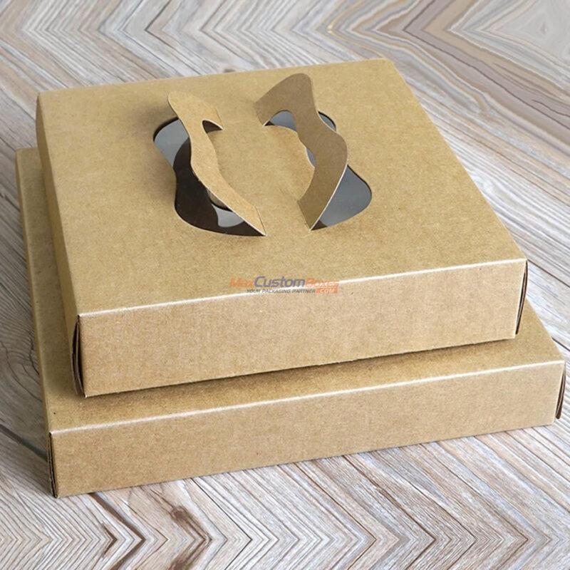 Custom Kraft Corrugated Pizza Boxes