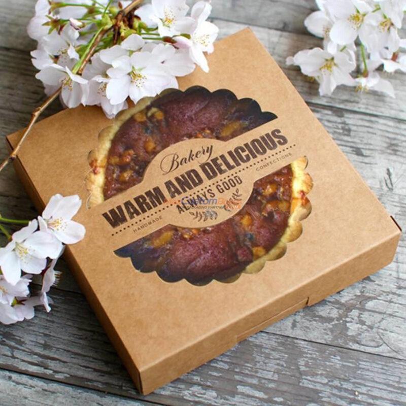 Custom Kraft Corrugated Pizza Boxes Wholesale