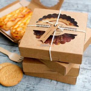 Custom Wholesale Kraft Pizza Boxes