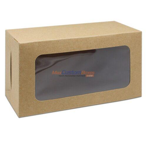 Custom Kraft Boxes Pvc Window