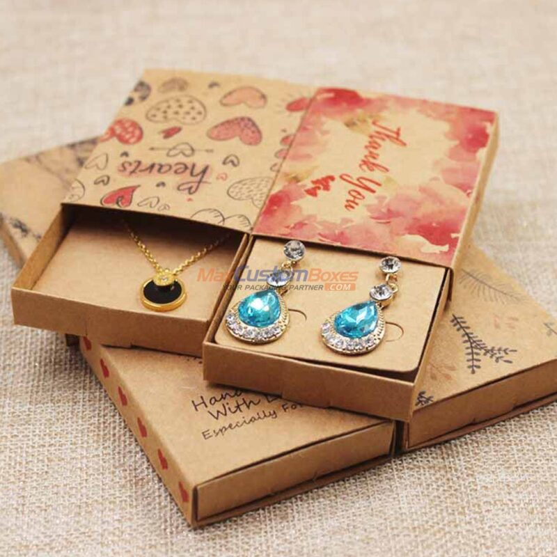 Custom Sleeve Tray Jewelry Boxes