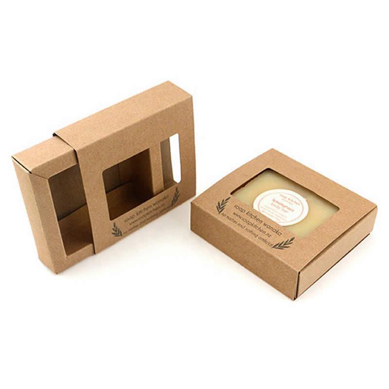Kraft Soap Box Packaging