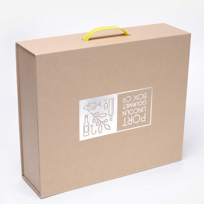 Custom Suitcase Packaging