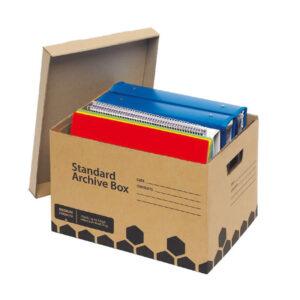 Kraft Archive Boxes