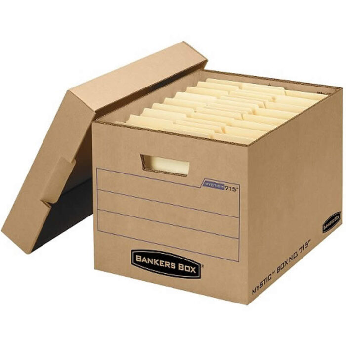 Kraft Archive Boxes With Logo