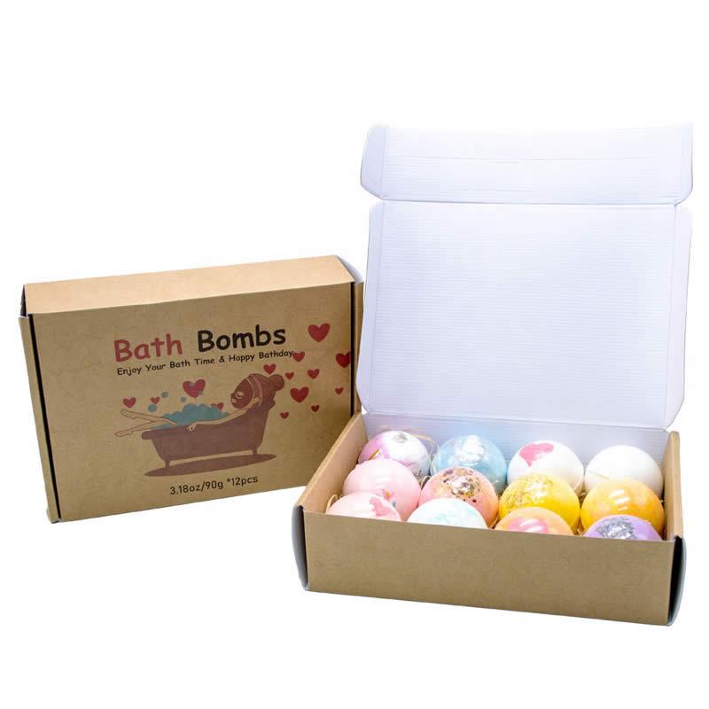Bath Bomb Boxes With Logo