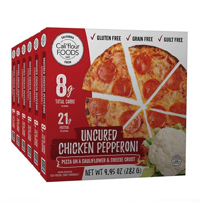 Frozen Pizza Box Large